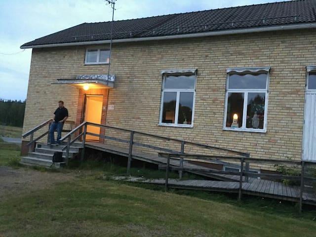 Haus in Schweden Lappland House in Sweden Svansele