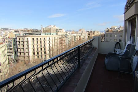 Central apartment with views - Barcelona - Apartment