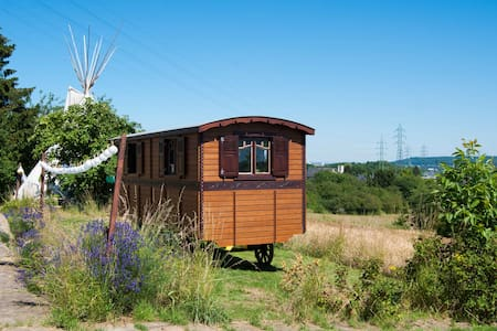 Caravan & Tipi - Garden Experience - Belvaux