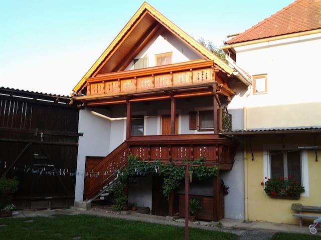 Ferienwohnung zum Wohlfühlen - Lödersdorf I - Apartament