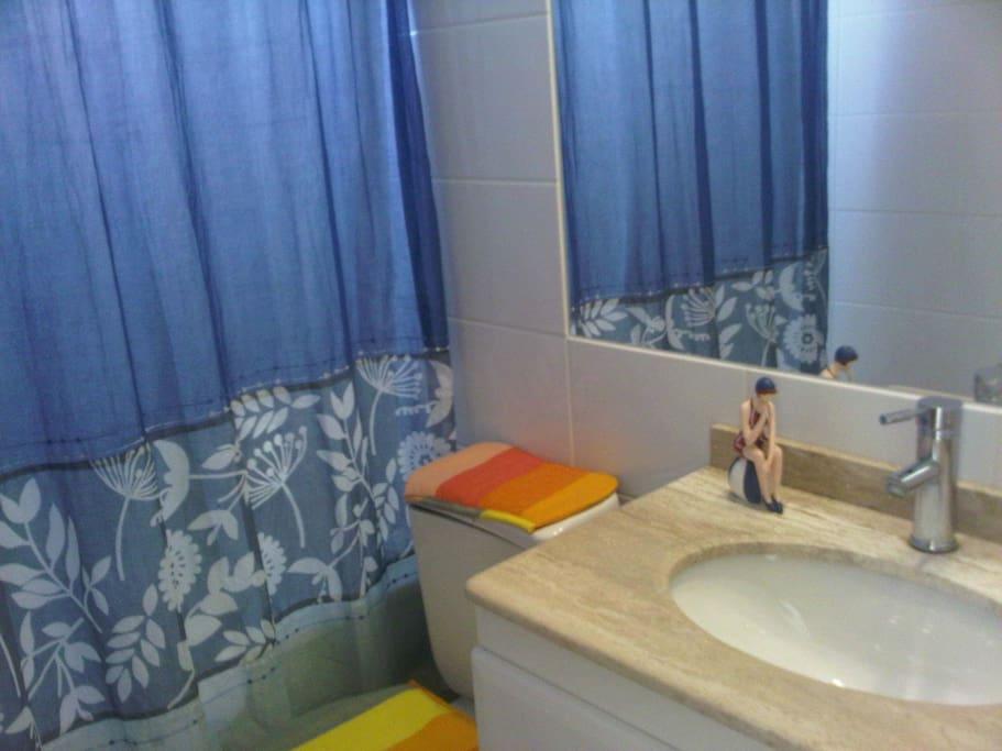 baño en suit