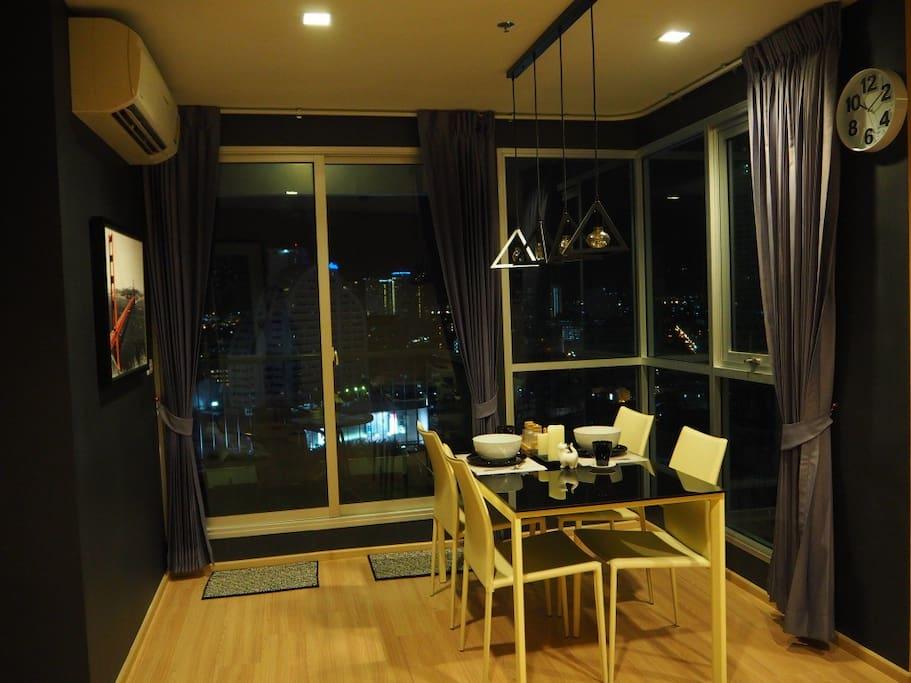 Dining Room - Black&White