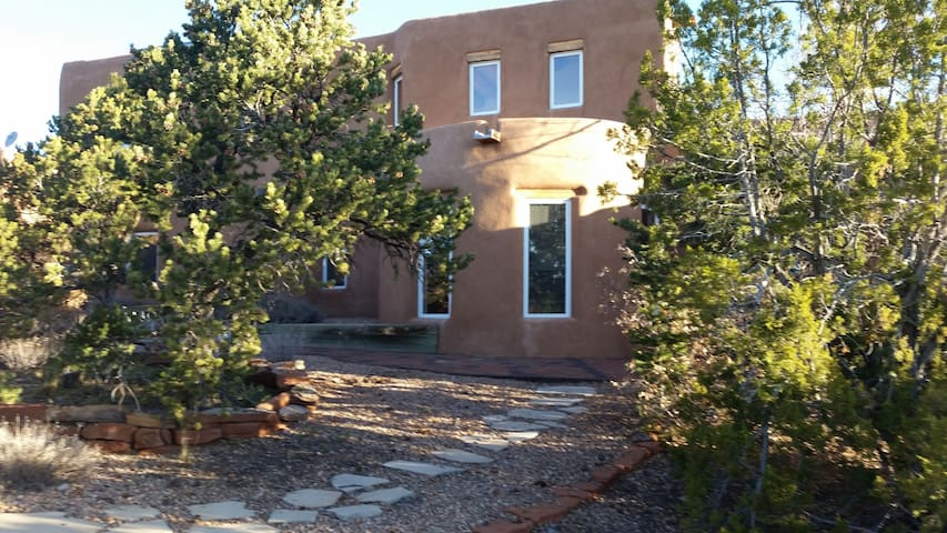 Apache Creek B&B. Enjoy Santa Fe Style of living.