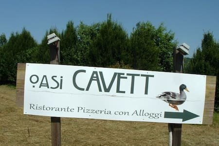 HOTEL OASI CAVETT - Mercallo - Bed & Breakfast