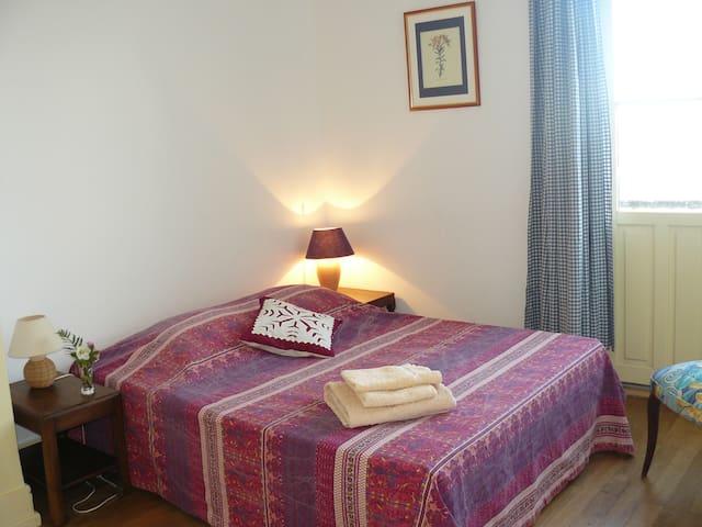 Chambre avec vue - Montsoreau - Rumah