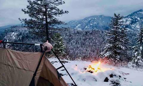 Mountain Refuge Ranch: Eagle Ridge Campsite
