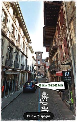 Gîte BIDEAN #1 au cœur de Saint Jean Pied de Port