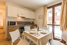 Holiday apartment with 1 bedroom on 40m² in Carisolo -TN-