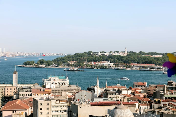 Incredibly best view of Istanbul