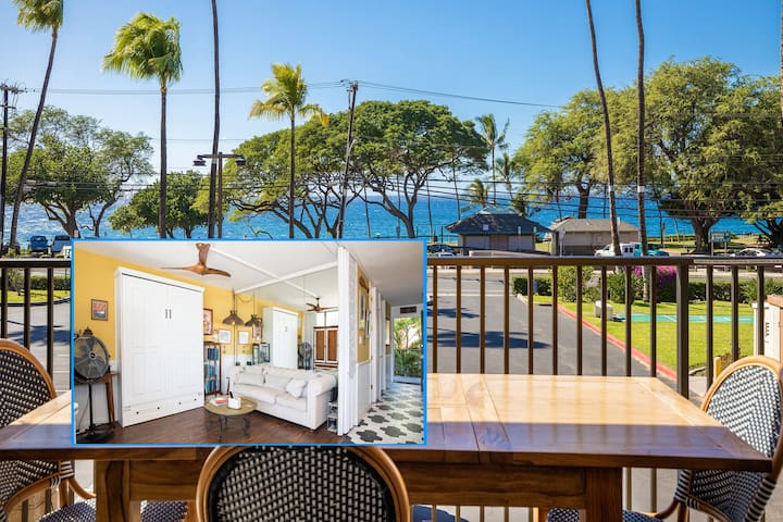 Beautiful Ocean View Kihei Condo at Maui Parkshore