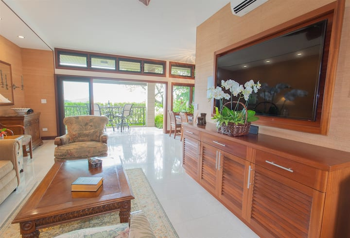5th Night FREE! New platinum level, FULL remodel villa with unrivaled interiors and spectacular ocean and island views!