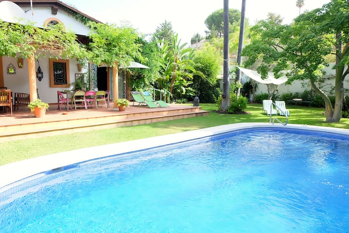 Villa de charme avec piscine priv e villas louer - Villa espagne avec piscine privee ...