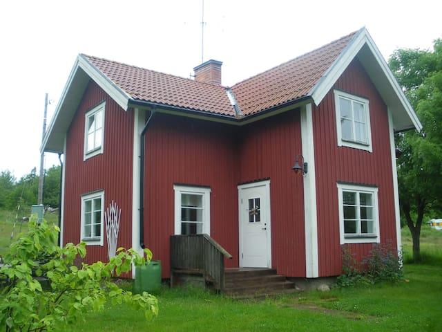 Idyll i Stockholms skärgård - Norrtälje - Blockhütte