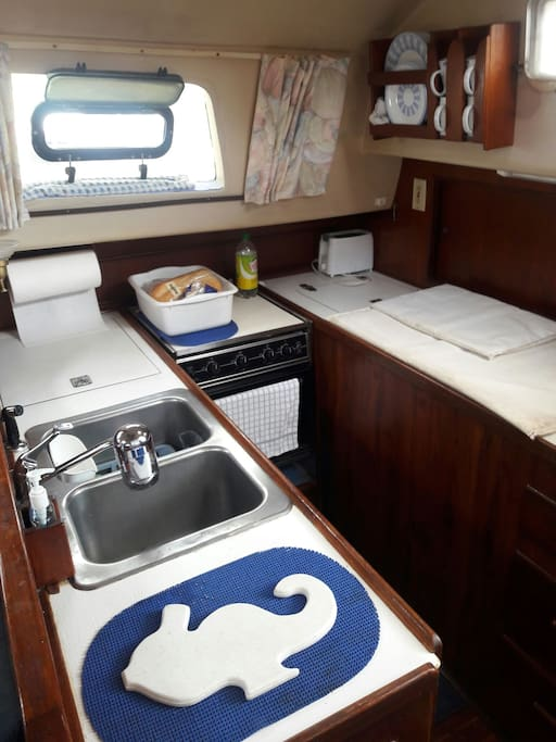 Well appointed galley
