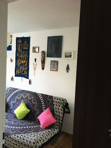 A small & cozy room in Warsaw's Praga hip district