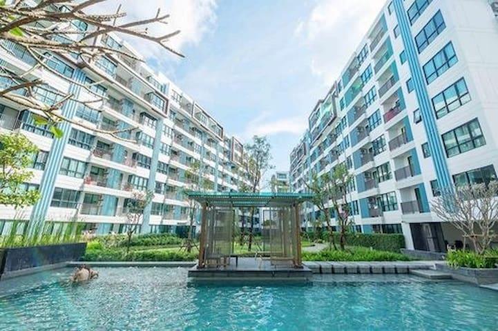 Centrio~Phuket》Central Foresta》free wifi》gym》pool