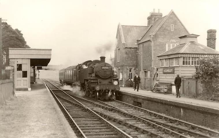 Holmsley Station