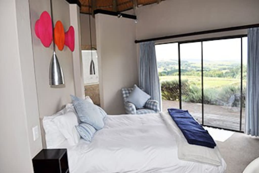 Second bedroom with magnificent views