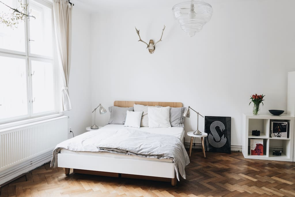 Scandinavian style apartment, close to the city centre.