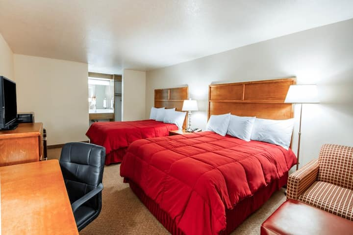 Centrally Located Studio Motel - 2Q Beds
