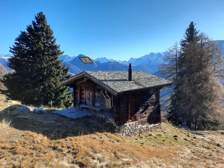 Burgihitta - Alphütte in unberührter Natur