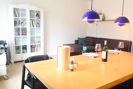 Nyrenoveret, lækker og lys 2-værelses i Aarhus C - Aarhus - Apartment