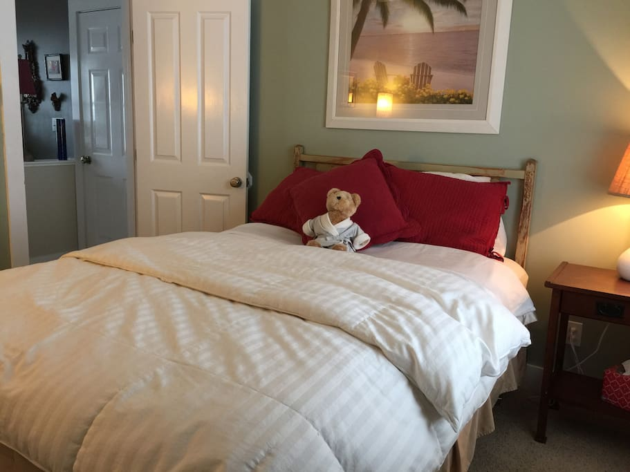 Sweet Cozy Private Bedroom for our guest