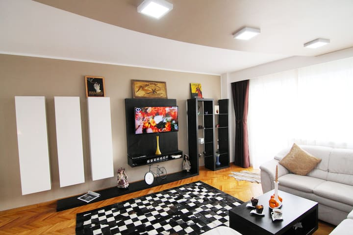 """CHARISMA"" 2 bedroom unusually spacious apartment. - Bucarest"