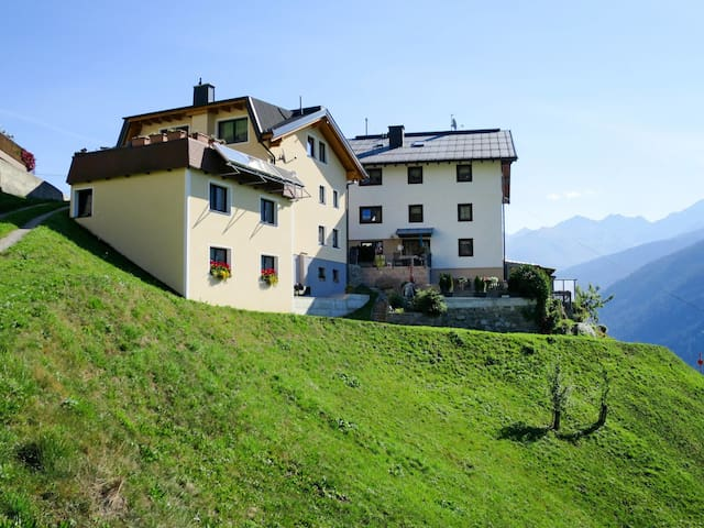 Spacious holiday home in idyllic hillside location with amazing views