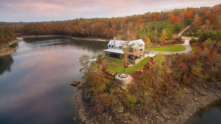 The Glass House - Lewis Smith Lake