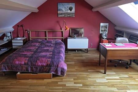 Belle chambre très spacieuse au calme. - Saint-Sébastien-sur-Loire