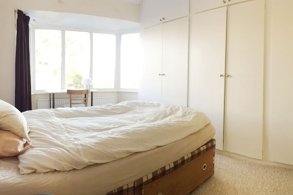 Spacious king-size bedroom
