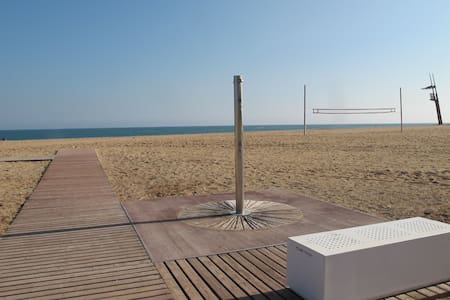 Flat at 8 min from beach and 15min to downtown - Sant Adrià de Besòs
