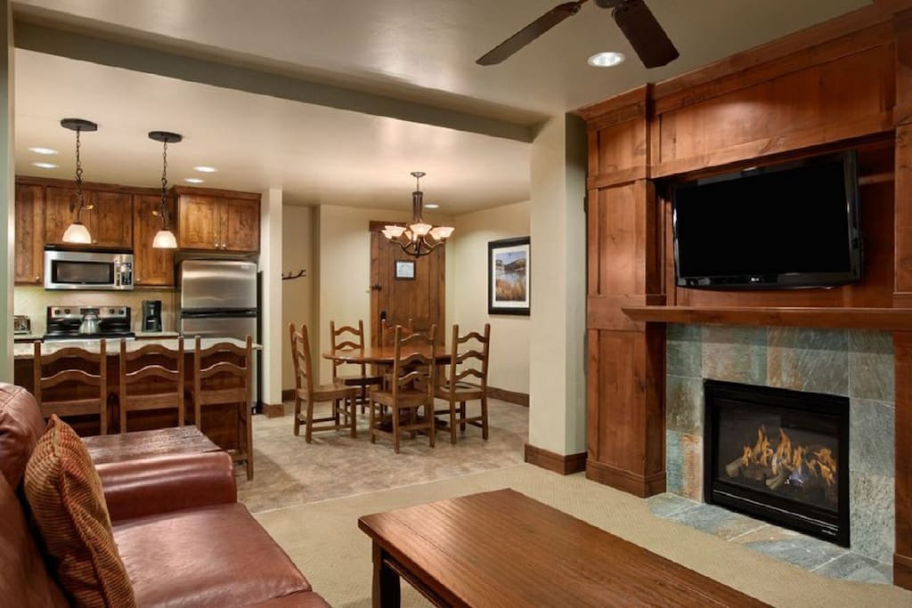 Living, Kitchen, Dining