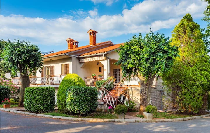 Nice home in Nedescina with 3 Bedrooms