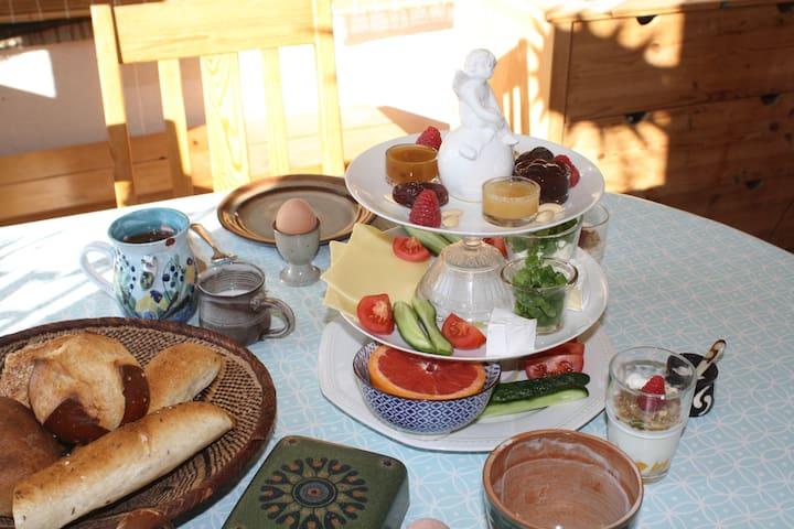 Frühstück-Guten Appetit!