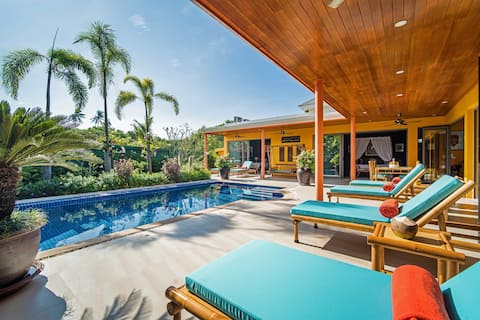 茉莉花熱帶:三居室私人泳池別墅