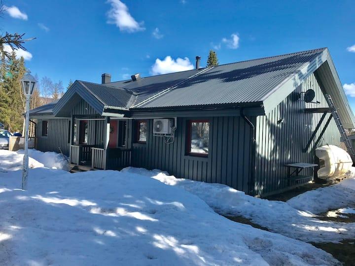 Modern villa i Tärnaby