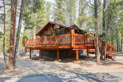NEW Listing!  The Whispering Pines Cabin