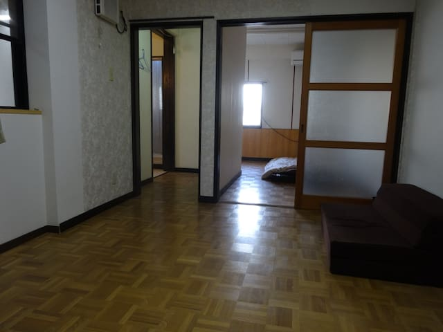【WiFi】Good Location at the center of the city - Miyazaki-shi - Apartamento