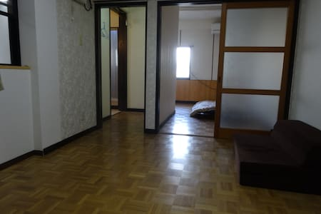 Old building, Good Location at the center of city - Miyazaki-shi - Apartamento