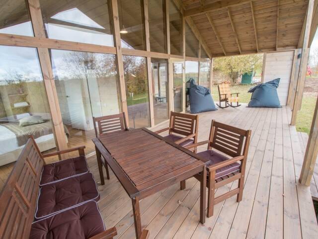 "VIP camping house 2. the leisure Park ""Malskaya valley"""