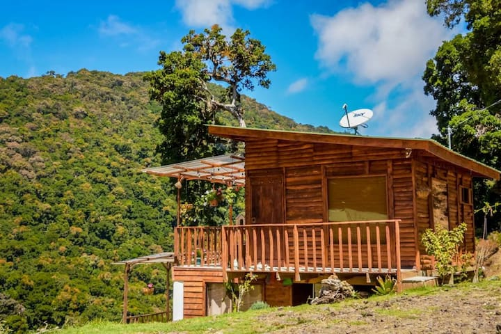 Cabaña con Hermosa Vista ( pet friendly)