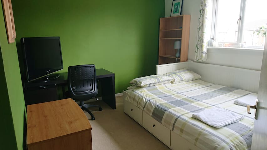 Centrally based spare room