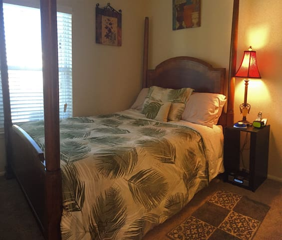 Cozy bedroom with private bathroom in Dulles, VA - Potomac Falls - Wohnung