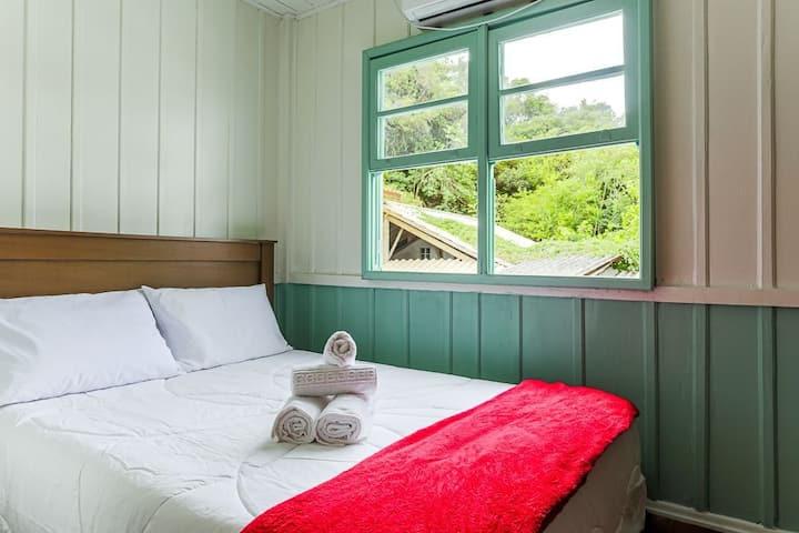 Let´s Go Hostel o melhor custo e a vista mais linda da Lagoa - Quarto privativo Lagoa