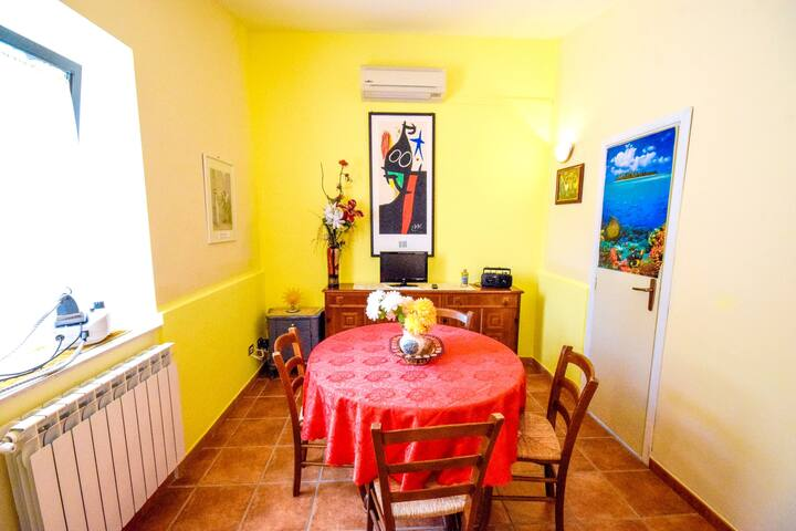 House with 2 bedrooms in Enna, with wonderful lake view, enclosed garden and WiFi - 85 km from the beach