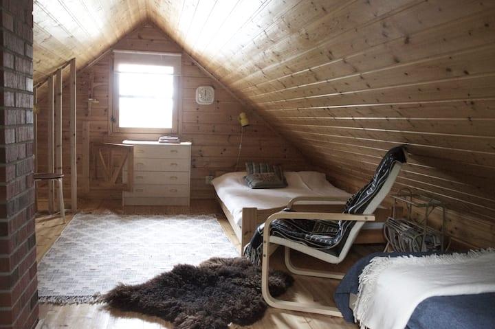 Tievaharju Cabin
