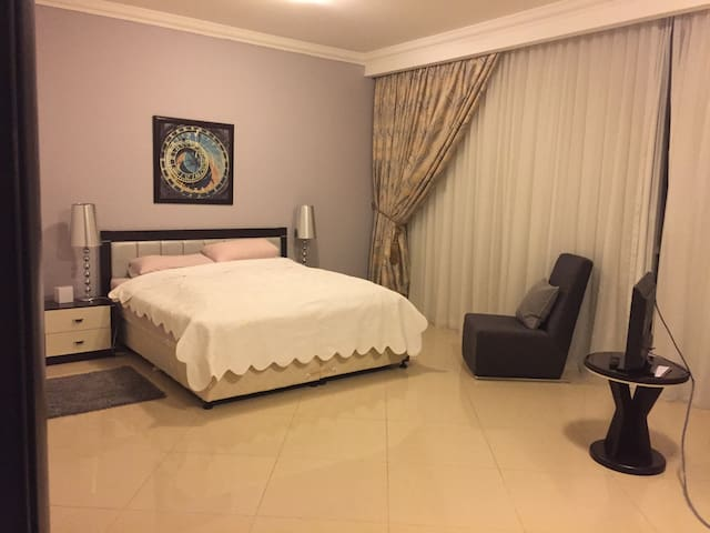 Spacious Master Bedroom in WestBay