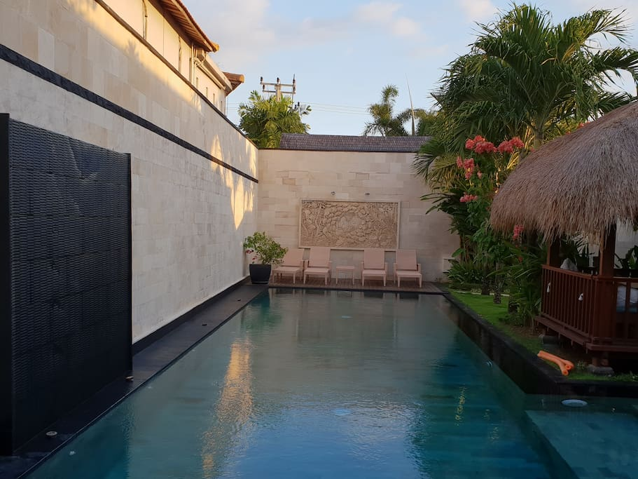 16 Meter pool!  3 times the size of other 3 bedroom villa pools!
